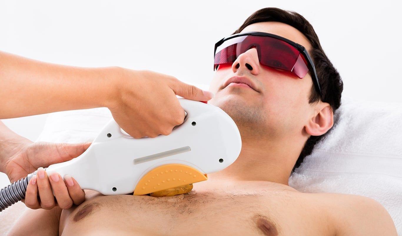 Body hair removal man - Dr. Haus Dermatology