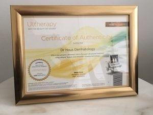 Ultherapy London UK Dr Haus Dermatology